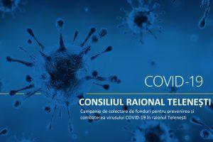 ACTUALIZARE din 5 iunie 2020 cu privire la mijloacele colectate pentru combaterea răspândirii virusului Covid-19