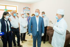 PREȘEDINTELE REPUBLICII MOLDOVA, IGOR DODON ÎN VIZITĂ OFICIALĂ ÎN RAIONULUI TELENEȘTI
